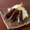 料理メニュー写真味噌串かつ(3本)