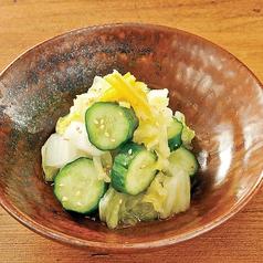 胡瓜と白菜の浅漬け
