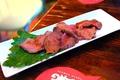 料理メニュー写真……まずは、ローストビーフ