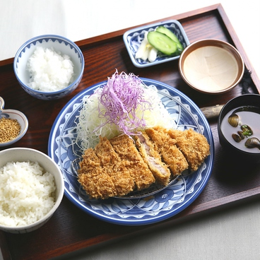 黒豚とんかつ コシヒカリかまど炊き 鬼おろし とん久のおすすめ料理1