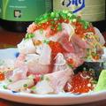 料理メニュー写真のっけ寿司