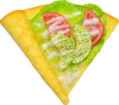 料理メニュー写真アボガドトマトクレープ