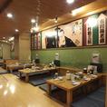 歌舞伎座をイメージした宴会場は70名様OK!