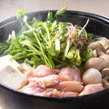 料理メニュー写真国産鶏の仙台せり鍋