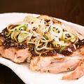 料理メニュー写真地鶏 蕎麦味噌(そばみそ)焼