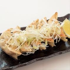 料理メニュー写真ねぎ塩レモン餃子