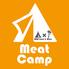 ミートキャンプ Meat Campのロゴ