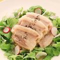 料理メニュー写真望来豚の塩漬け白菜詰め蒸し 黒胡椒味