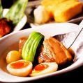 料理メニュー写真山形産 米沢豚の柔らか煮(煮たまご付)