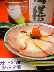 竹つぼのおすすめ料理2