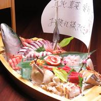 近江町市場で歴史あるお店。鮮度抜群の魚をご堪能下さい