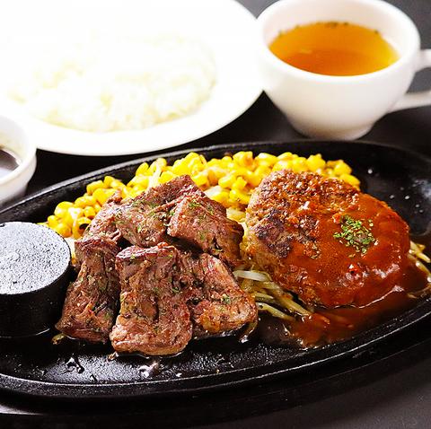 ≪ハンバーグ&ステーキ≫昼も夜も!美味しくてコスパ◎お一人様・お子様連れ大歓迎♪