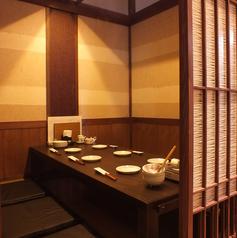 完全プライベートな空間で新鮮な海鮮料理をお楽しみください。日本酒との相性も抜群です。飲み放題は最安4,000円~ご用意しています。飲み放題はゆっくりできてうれしい150分!ゆったり空間でおいしい料理とお酒を心ゆくまでお楽しみください。