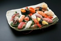 料理メニュー写真初寿司最高級握り「ぎふの誇り」(赤だし付)