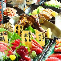 とろける鮪を存分に堪能。生鮪の刺身や寿司などが人気!