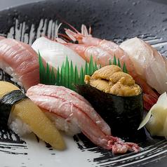にぎり寿司盛合せ特上