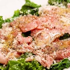 イベリコ豚とケールのパルミジャーノサラダ