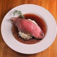 ボリューム満点!こだわりの肉料理がオススメ♪