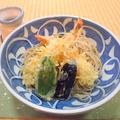 料理メニュー写真冷やし天ぷら