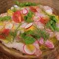 料理メニュー写真本日入荷!鮮魚のカルパッチョ