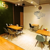 カフェスペースも併設♪お昼の営業も行っております◎カフェ利用やお食事利用など、どちらも大歓迎◎