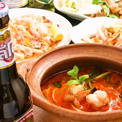 タイ料理がリーズナブルに★本場の味が凝縮された店♪1950年代のタイにトリップ!!