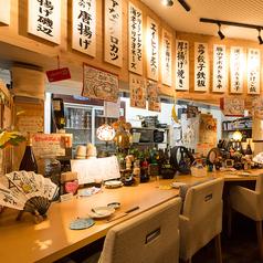 カツオの藁焼き、串焼きも間近で見れるなデートにぴったりなカウンター席♪