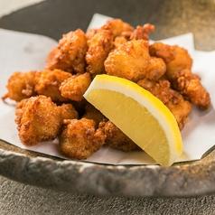 料理メニュー写真鶏なんこつから揚げ