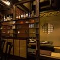 大切な方との特別な夜は完全個室で…◆プライベート空間でのんびりとお食事を愉しみたい方にピッタリ!デートや記念日などゆったりとお食事をお楽しみください♪