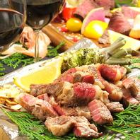 その日の一番いいものを仕入れる銘柄牛の塊肉は必食◎