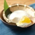 料理メニュー写真だし凍りで食べる ざる豆冨