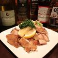 料理メニュー写真鶏モモステーキおろしポン酢