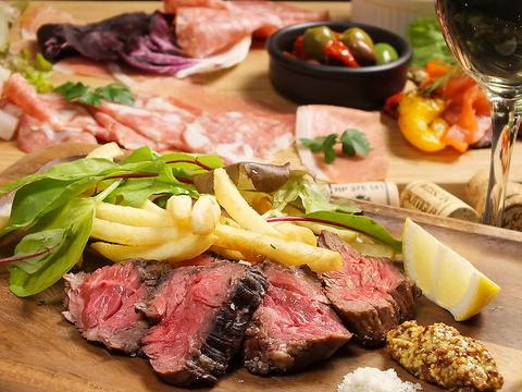 【歓送迎会に!】メインは人気の肉厚ハラミ!!90分飲放付全6品3000円