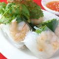料理メニュー写真ベトナム生春巻き(2本)