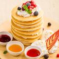 料理メニュー写真タワーオブパンケーキ