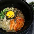 料理メニュー写真石焼ビビンバ (スープ付き)