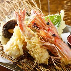 料理メニュー写真旬の天ぷら盛り合せ