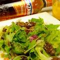 料理メニュー写真三日月サラダ