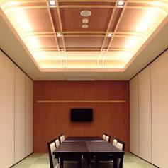 【利根川~妙義】お座敷テーブル・イス席の個室宴会場、4部屋各12名様まで仕切りを外して最大60名様迄の宴会可能