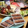 新鮮鮮魚は店主自ら釣りに行ったり、店主自ら市場に出向き新鮮な魚介類を仕入れています!日替わりに変わる四季折々の食材が光る!!