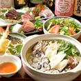 大人気の牡蠣鍋コース♪新鮮プリプリな牡蠣を特製スープで仕上げます!2時間飲み放題付きで6000円になります。