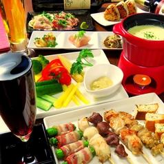 がぶ飲みワイン食堂 Kushiya Premiumのコース写真