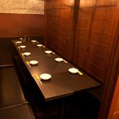 最大60名様用個室。大宴会にも対応致します