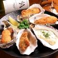 料理メニュー写真広島産牡蠣フライ