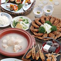 自慢の鶏料理をご堪能いただけるご宴会コース各種♪