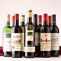 鉄板料理と相性抜群のワインを多数取り揃えています★
