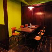 【2F広々個室】個室は宴会にも十分に対応できる広さ。人気のお席は、NET予約で事前にご予約ください。
