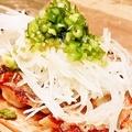 料理メニュー写真ネギ塩焼き餃子