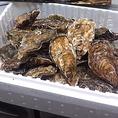 当店は広島県産の殻付生カキを使用しております。新鮮でぷりっぷり!濃厚なカキのうま味を堪能いただけます。仕入れ、季節により提供できない場合がございますので、ご了承くださいませ。