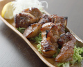 料理メニュー写真京丹波豚の特製スペアリブ